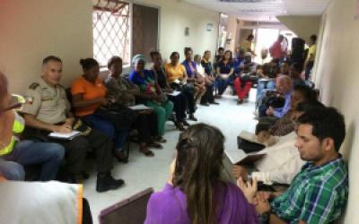 Mesa Cantonal de Gènero se Reúne con Autoridades Locales