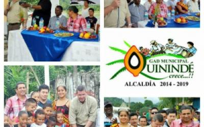 Inauguración Sistema de Agua Potable en la parroquia Chura