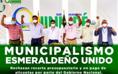 MUNICIPALISMO ESMERALDEÑO UNIDO.